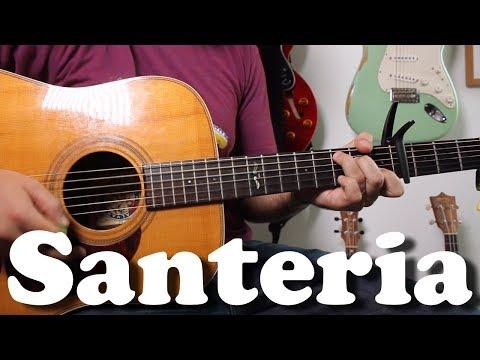 Sublime - Santeria - Super Easy Beginner Acoustic Guitar Tutorial