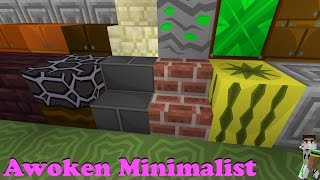 Minecraft Resource Pack - Awoken Minimalist Thumbnail