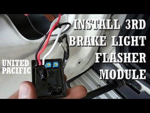3rd Brake Light Flasher Module Install - FJ Cruiser - YouTube
