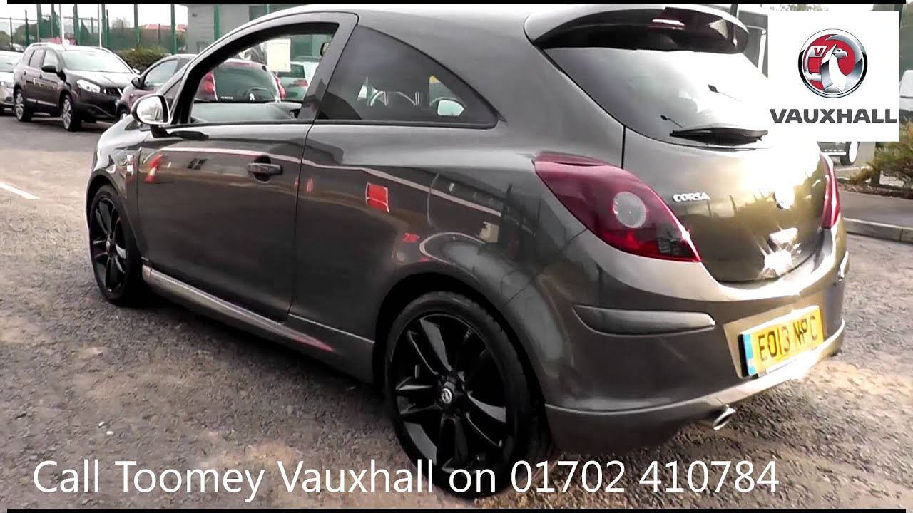 2013 vauxhall corsa limited edition grey eo13npc for. Black Bedroom Furniture Sets. Home Design Ideas