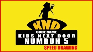 NUMBUH 5 (KIDS NEXT DOOR)- speed painting (water color)