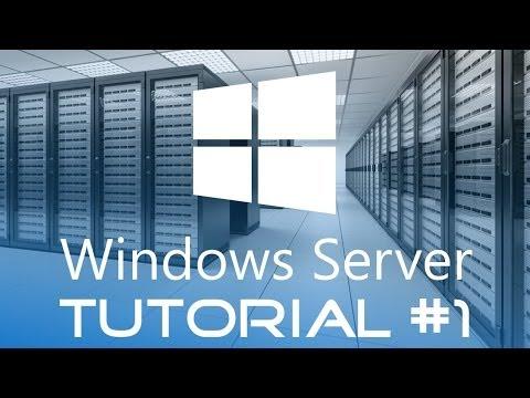 Windows Server Tutorial #1 - Einführung und Erstellung einer Domäne