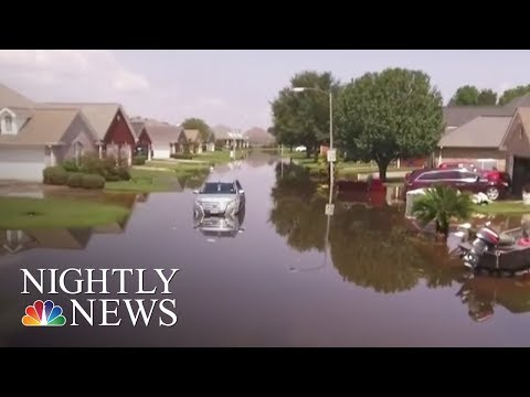 Hurricane Harvey: Receding Floodwaters Reveal Scale of Devastation in East Texas | NBC Nightly News
