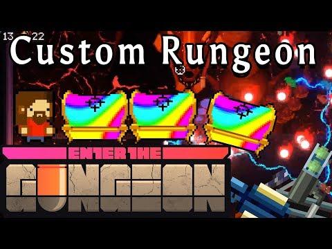 Enter the Gungeon | Rainbow Chest Every Floor | Custom Rungeon