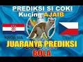 PREDIKSI SI COKI KUCING AJAIB - ( EURO 2020/2021 ) : KROASIA VS CEKO, PREDIKSI BOLA