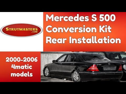 How To Fix The Rear Suspension On A Mercedes S500 4matic