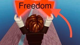 I'm Running Toward Freedom!! (ROBLOX)