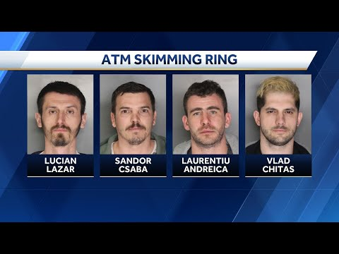 4 arrested in Sacramento in West Coast credit card skimming operation Mp3