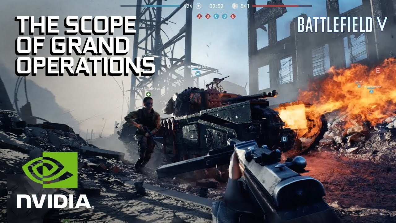 Battlefield V: The Scope of Grand Operations