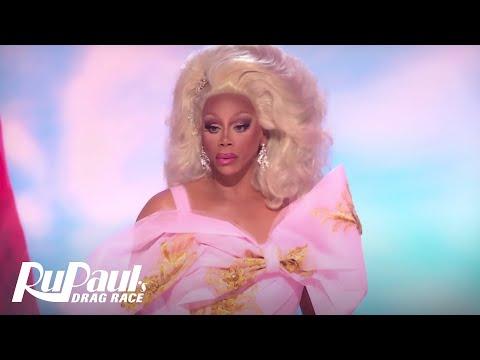 RuPaul Always Has a Seat for Porkchop BONUS   RuPaul's Drag Race Season 9 Finale  VH1