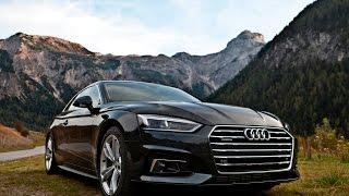 2017 NEW Audi A5 3.0TDI quattro - In the Alps, exterior, interior, etc