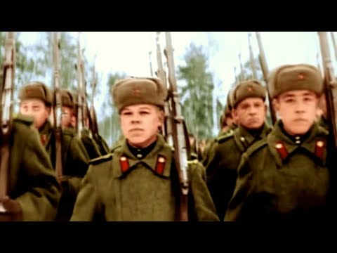 Soviet Union: WW2 Footage in Colour Battle of Berlin 1945 (USSR Trap Music) CCCP