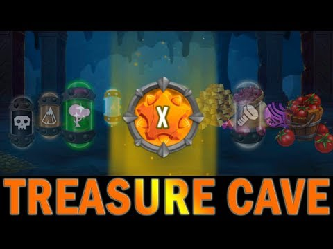 TREASURE CAVE | NEW MONSTER LEGENDS EVENT | REACHING ROOM 30 - LEVEL 10 TEN RUNE!