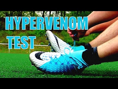"NIKE HYPERVENOM 3 III Play Test ""Perfect Striker Boots"""