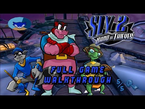 Sly 2 - Full Game Walkthrough - No Commentary 1080p60fps