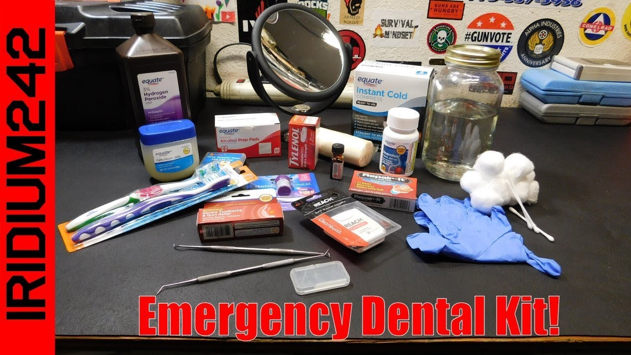 Prepping Tip: Making An Emergency Dental Care Kit