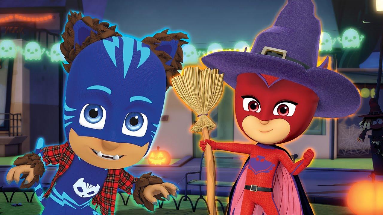 Download Halloween Tricksters 🎃 Double Episode 👻 PJ Masks Official