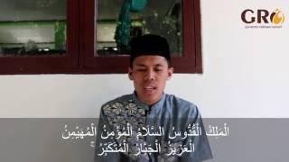 merdunya surah al hasyr ayat 21-24 oleh santri GRQ
