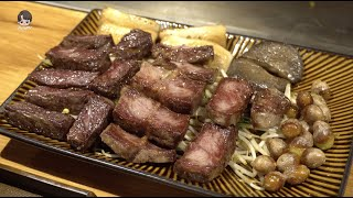문래 철판요리,살치살 부채살 스테이크,새우볶음밥/Mun…