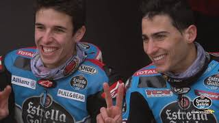 Márquez and Vierge, friends and rivals in the same garage