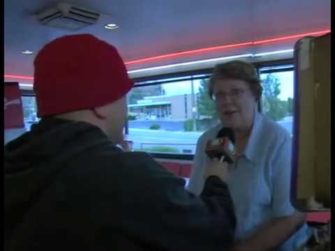 Johnny Riche FUNNY visit at fast food restaurant