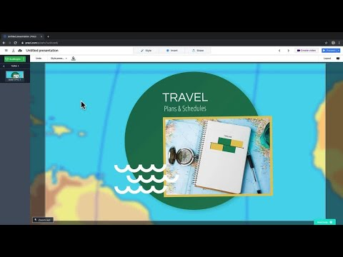 Prezi tutorial: How to group your content thumbnail