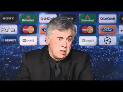 Chelsea FC - Ancelotti on the Champions League