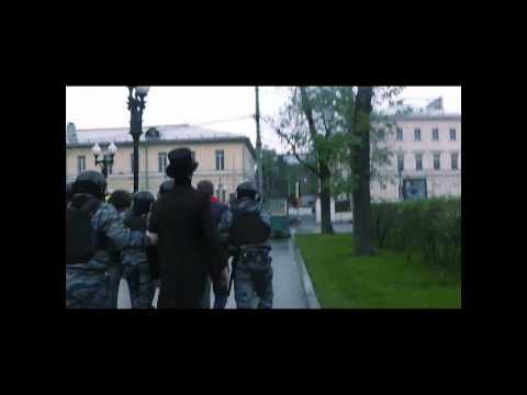 Задержание Алексея Навального утром 9 мая 2012 года