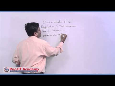 Cell Theory - NEET AIPMT AIIMS Botany Video Lecture [RAO IIT ACADEMY]