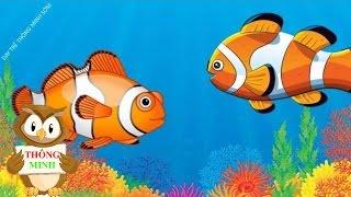 Dạy bé tập nói con vật | em học đọc các loài động vật dưới biển tiếng Việt | Dạy trẻ thông minh sớm