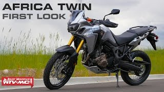 2016 Honda Africa Twin First Look