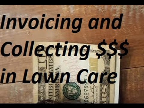 Billing and Collecting Money in Lawn Care Business - Invoicing Mp3