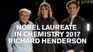 2017 Nobel laureate Richard Henderson at Chalmers University of Technology