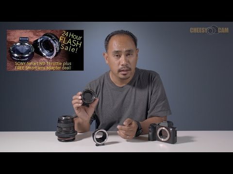 FotoDiox ND Throttle Fusion Lens Adapter 24 Hour Flash Deal