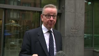 UK's Secretary of State for environment Michael Gove says he has confidence in Prime Minister May