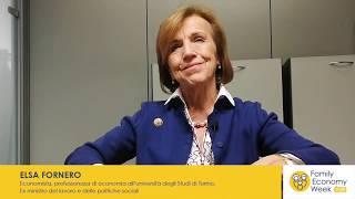 """FEW 2020, Fornero: """"Iniziative così meritano successo"""""""