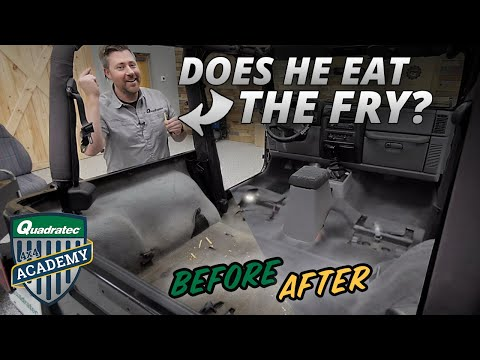 How to Replace Dirty Old Carpet in your 97-06 Jeep Wrangler TJ