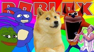 MEME SIMULATOR   Roblox Adventures - Roblox Gameplay