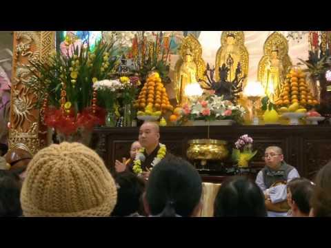 Nghe Thầy Pháp Hòa nói chuyện Phật pháp ở chùa Huệ Quang - Phillip Phan's post.