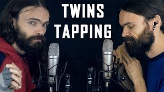Asmr Twins Tapping A Few Inaudible Whispers English