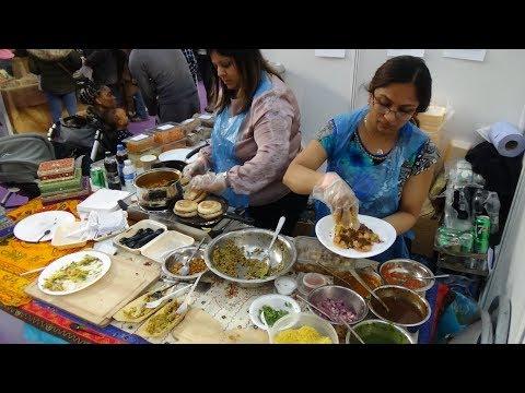 Sev Puri, Bombay Bhel & Dabeli: Indian Street Food in London by Sim Sim's Kitchen at Vegan Life Live