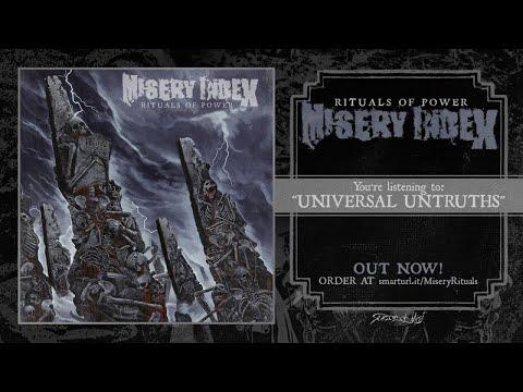 Misery Index - Universal Untruths
