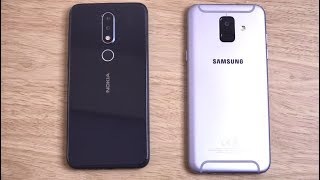 Nokia X6 vs Samsung Galaxy A6 - Speed Test!