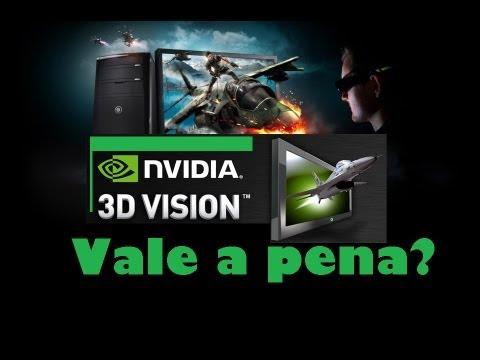 3D Vision - Os óculos 3D da Nvidia valem a pena?