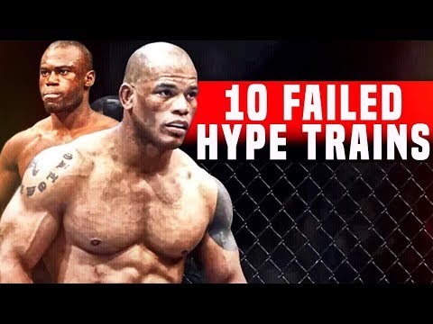 10 Fighters Who Failed To Live Up The Hype