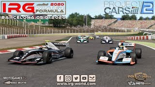 IRG Project Cars 2 Winter Formula 2020 - Barcelona