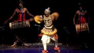 Sabaragamuwa dance by folk dancers of Sri Lanka