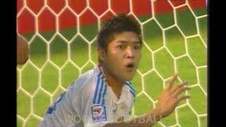 大久保嘉人 大事な試合でGK蹴って一発退場 遠藤保仁のコロコロPK 直後にオマーン選手がコロコロ真似して失敗する 2008