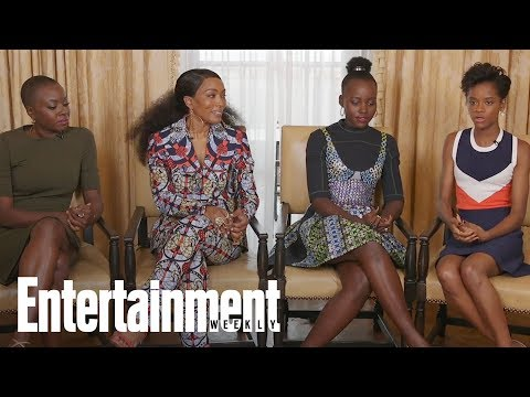 Black Panther's Letitia Wright On The Inspirational Life Of Women In Wakanda | Entertainment Weekly