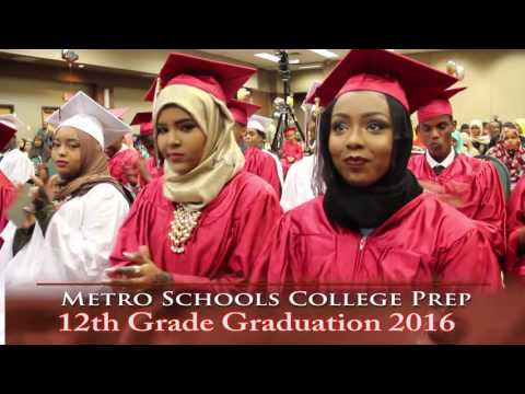 Metro Schools College Prep 12th Grade Graduation 2016